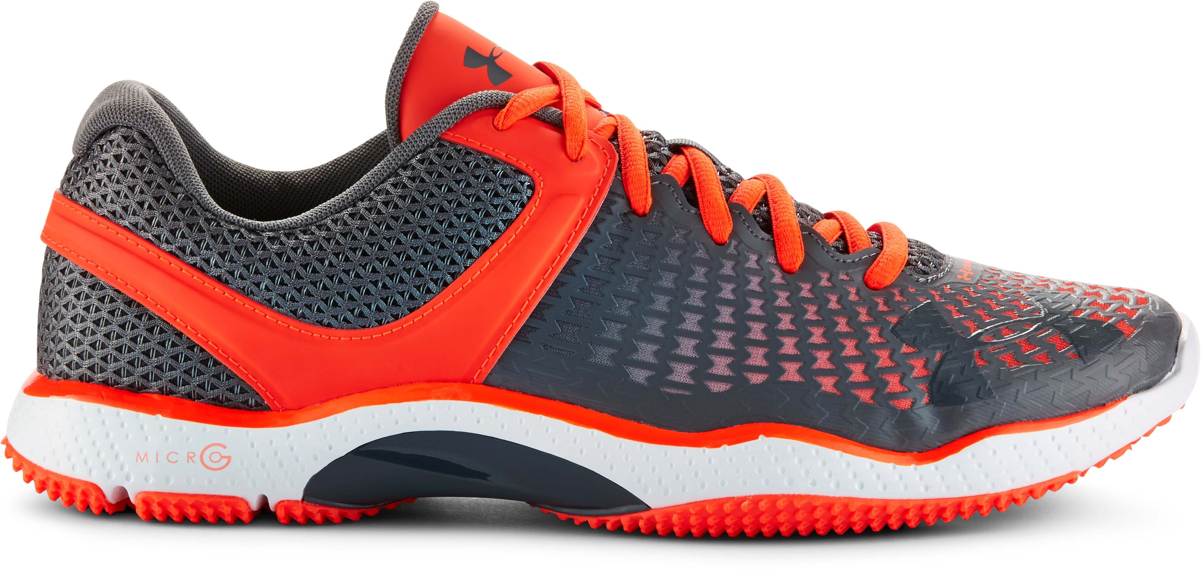 Men's UA Micro G® Elevate Training Shoes, BOLT ORANGE