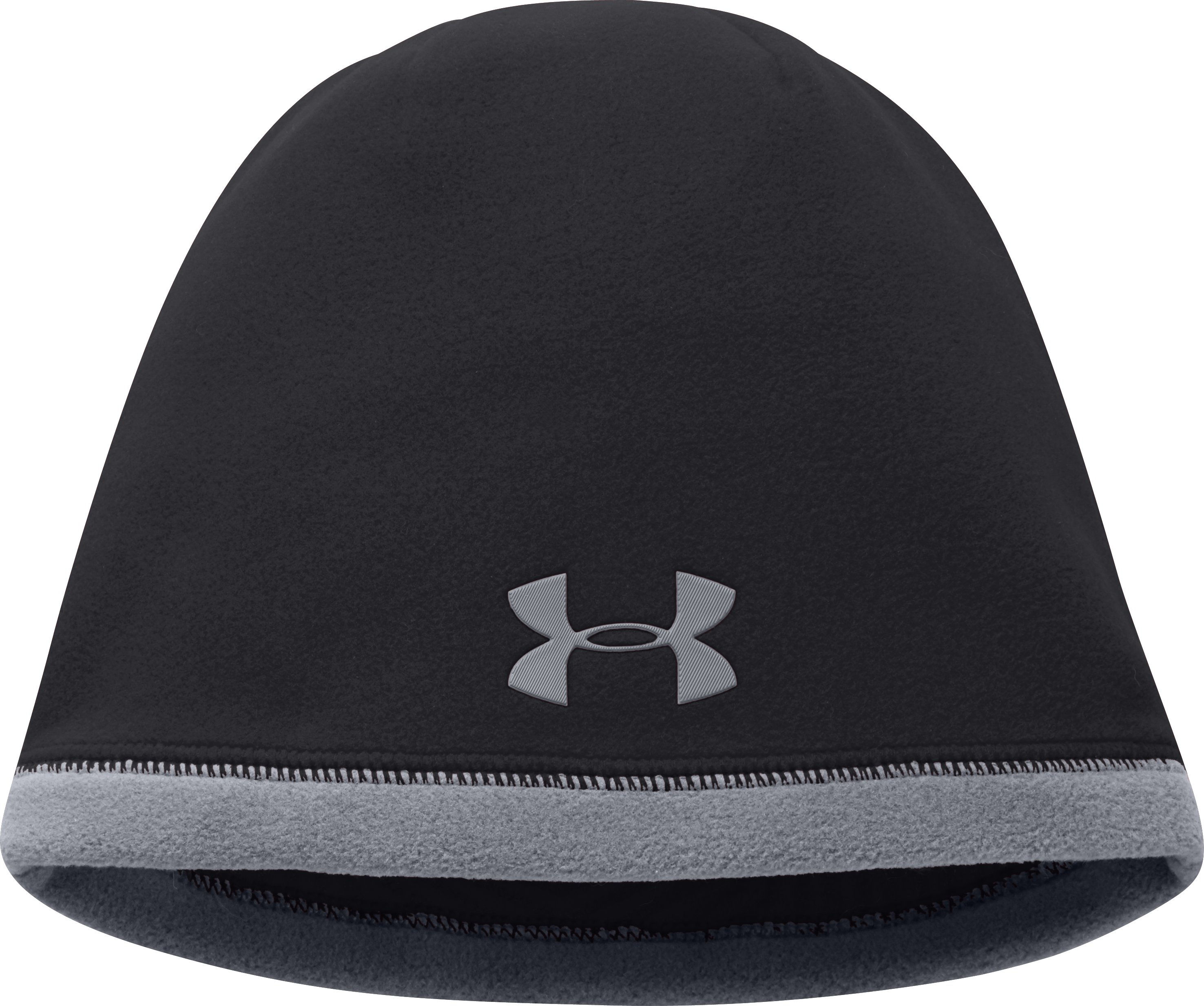 Boys' UA Storm ColdGear® Infrared Elements Beanie, Black , undefined