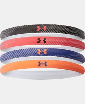 Women's UA Reflective Mini Headband - 4pk