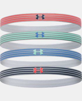 Women's UA Reflective Mini Headband - 4pk  1 Color $14.99