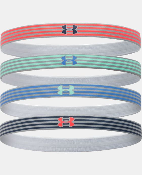 Women's UA Reflective Mini Headband - 4pk LIMITED TIME: FREE U.S. SHIPPING 1 Color $11.99