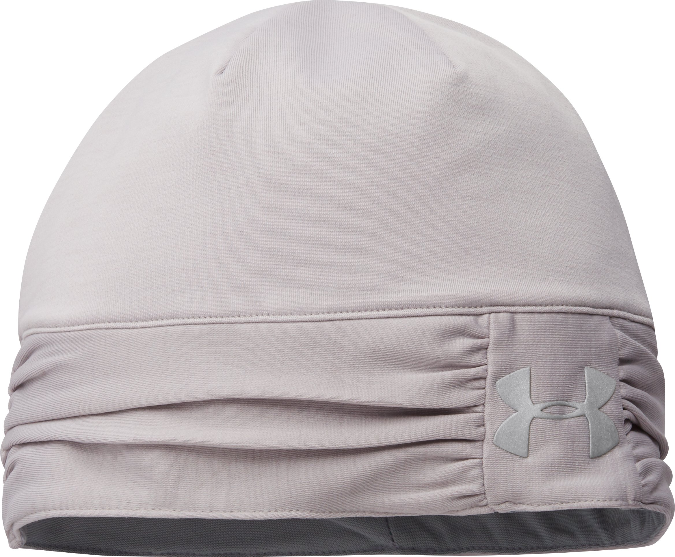 Women's UA ColdGear® Infrared Cozy Beanie, MOON MIST