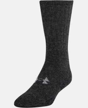 Men's UA Charged Wool Boot Socks – 2-Pack   $29.99