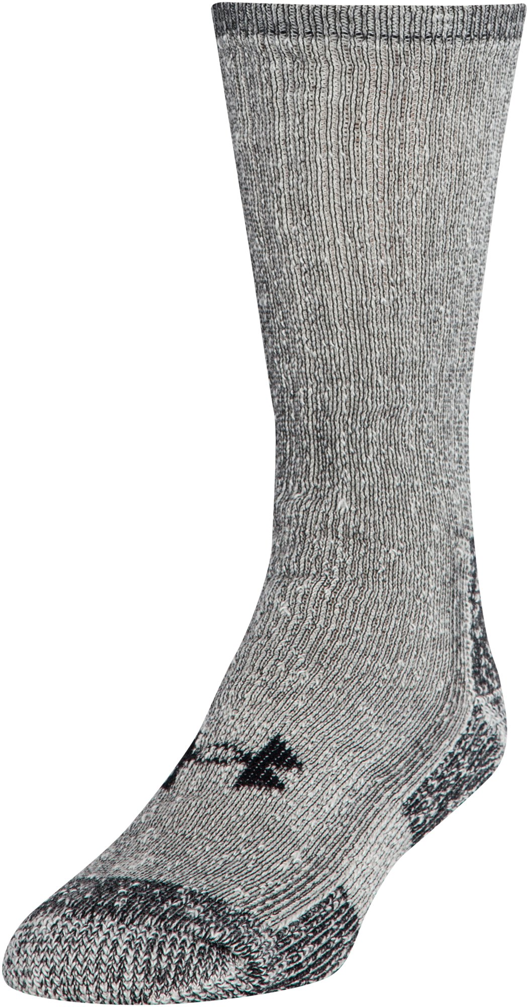 UA Charged Wool Boot Socks – 2-Pack, Gray