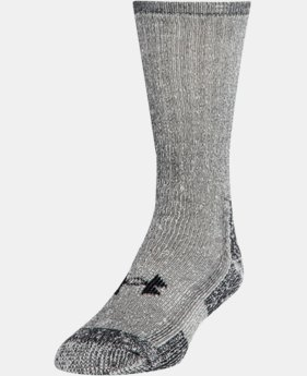 Men's UA Charged Wool Boot Socks – 2-Pack  1 Color $29.99