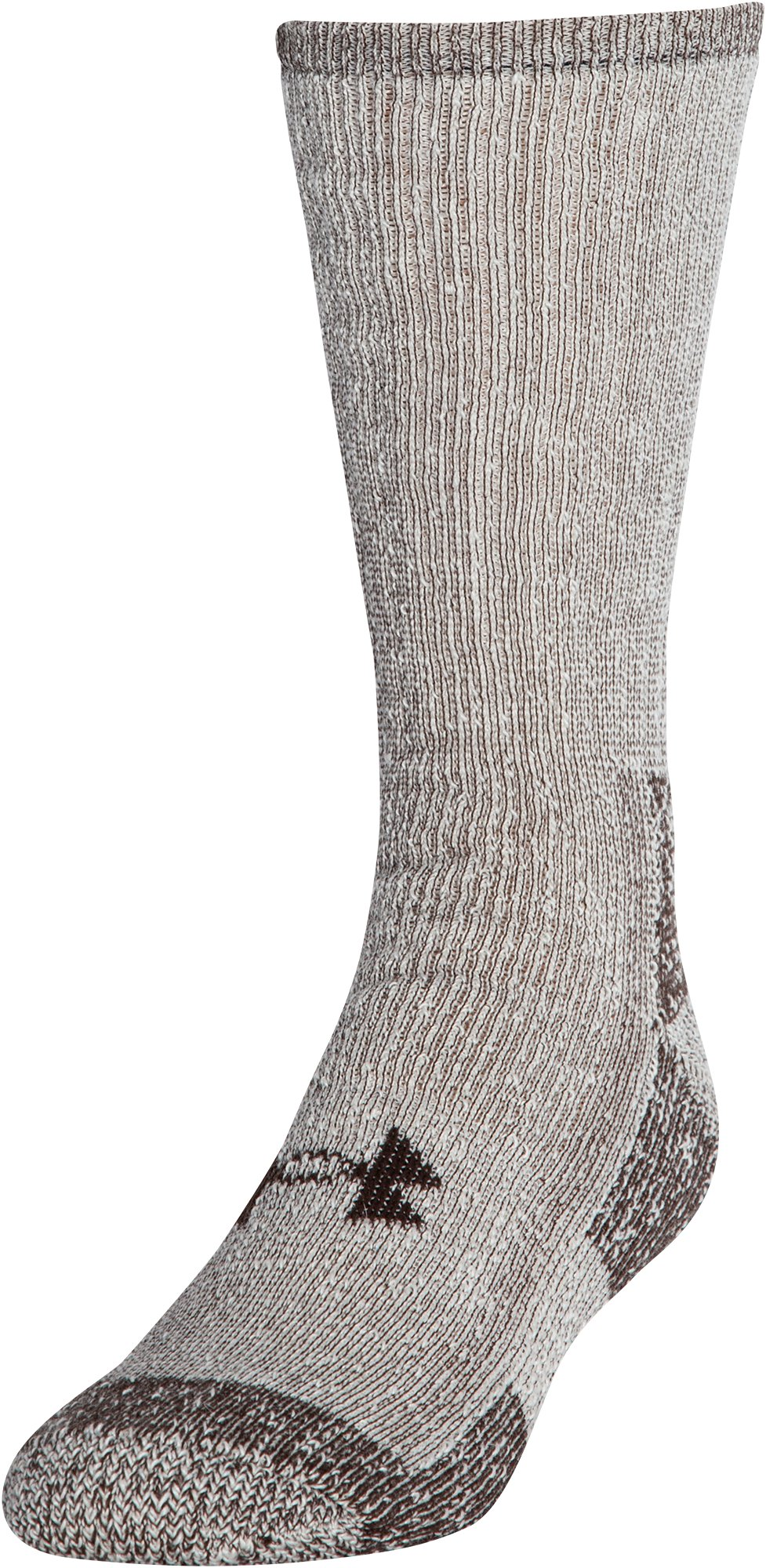 UA Charged Wool Boot Socks – 2-Pack, Cleveland Brown