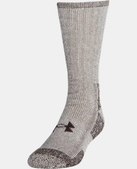 UA Charged Wool Boot Socks – 2-Pack  1  Color Available $25