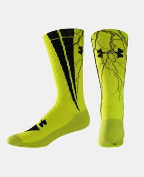 Kids' UA Ignite Sublimated Crew Socks