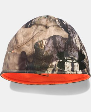 New Arrival  Men's UA Reversible Camo Beanie  4 Colors $34.99