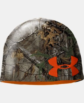 New to Outlet Men's UA Reversible Camo Beanie  5 Colors $13.99 to $22.99