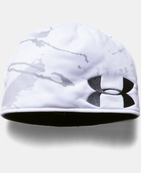 Men's UA Reversible Camo Beanie  1  Color Available $29.99