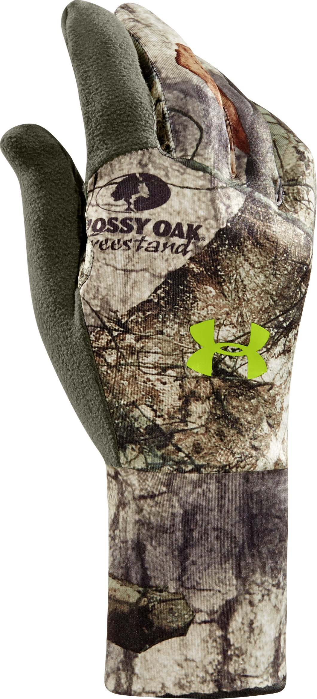 Men's UA Scent Control Gloves, Mossy Oak Treestand