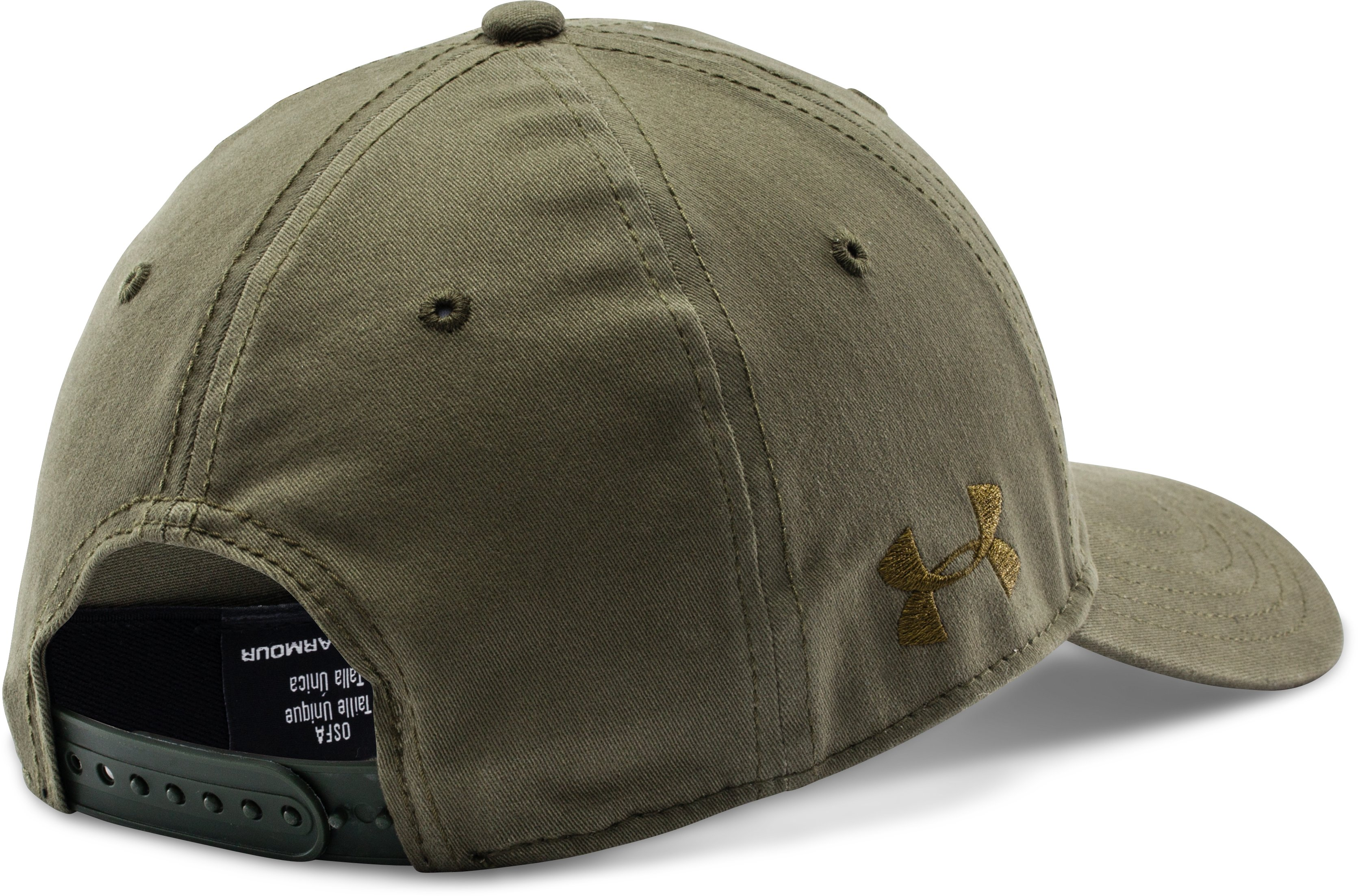 Men's UA Tactical Friend Or Foe Cap, Marine OD Green