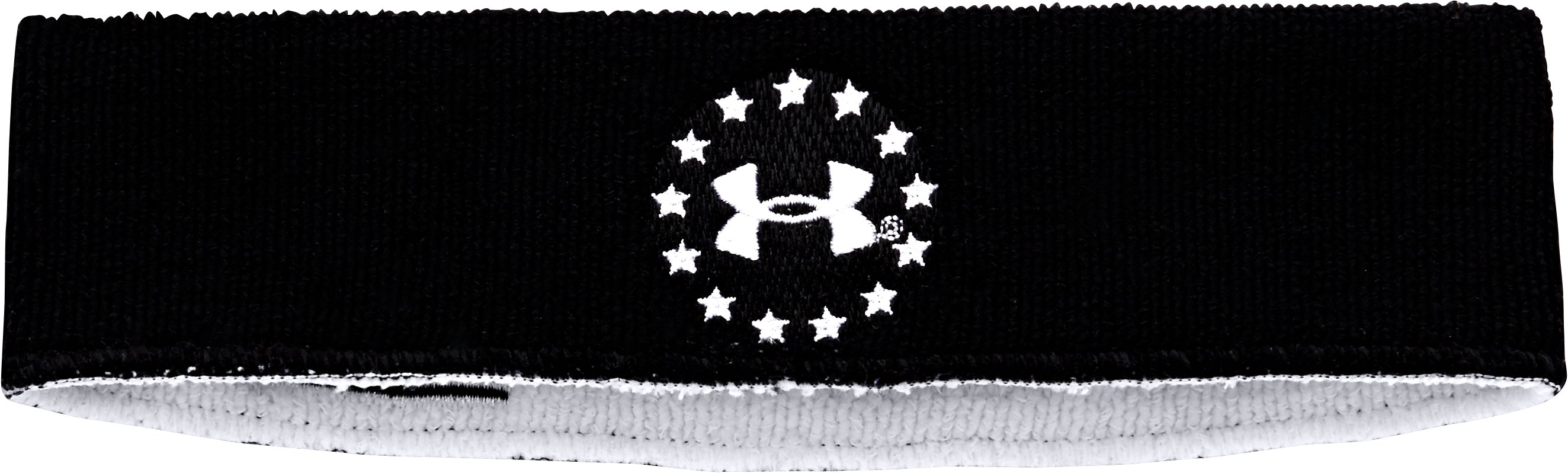 UA WWP Sweatband, Black , undefined