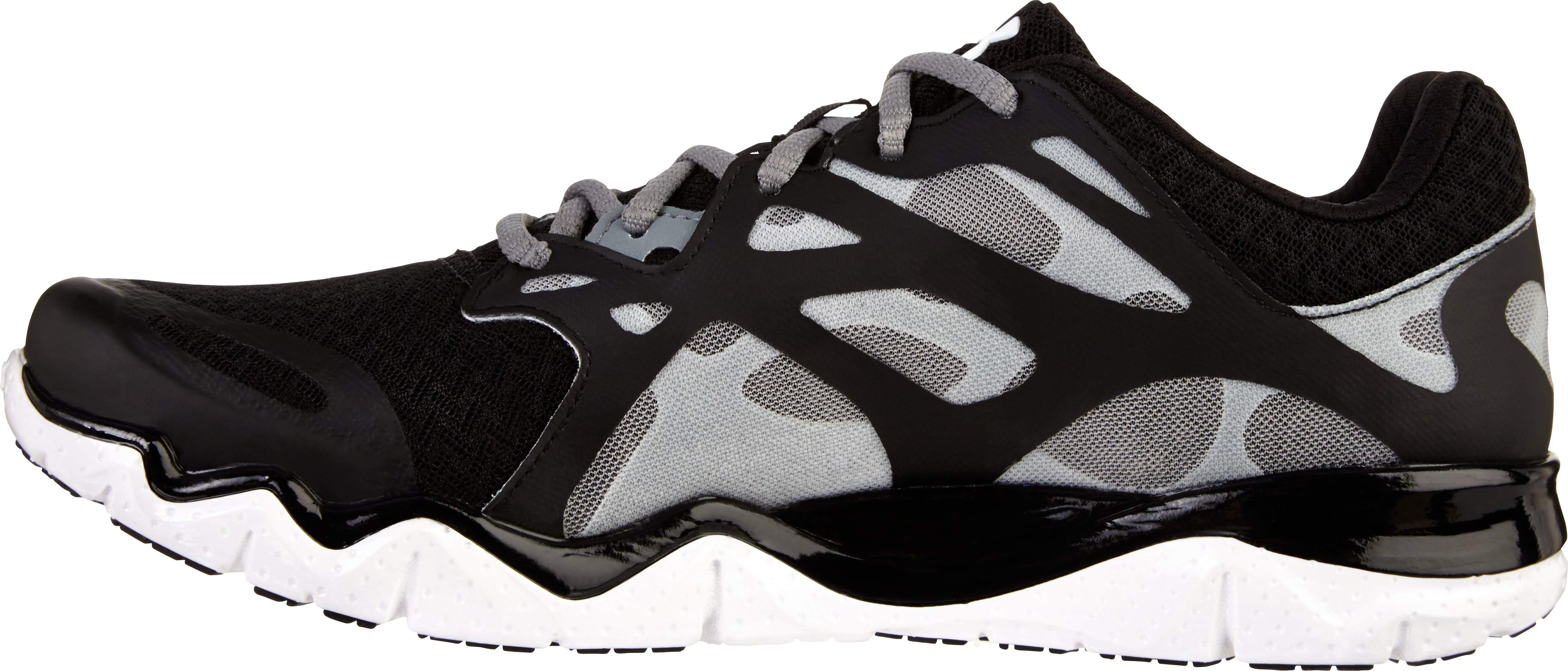 Men's UA Micro G® Monza NM Running Shoes, Black , undefined