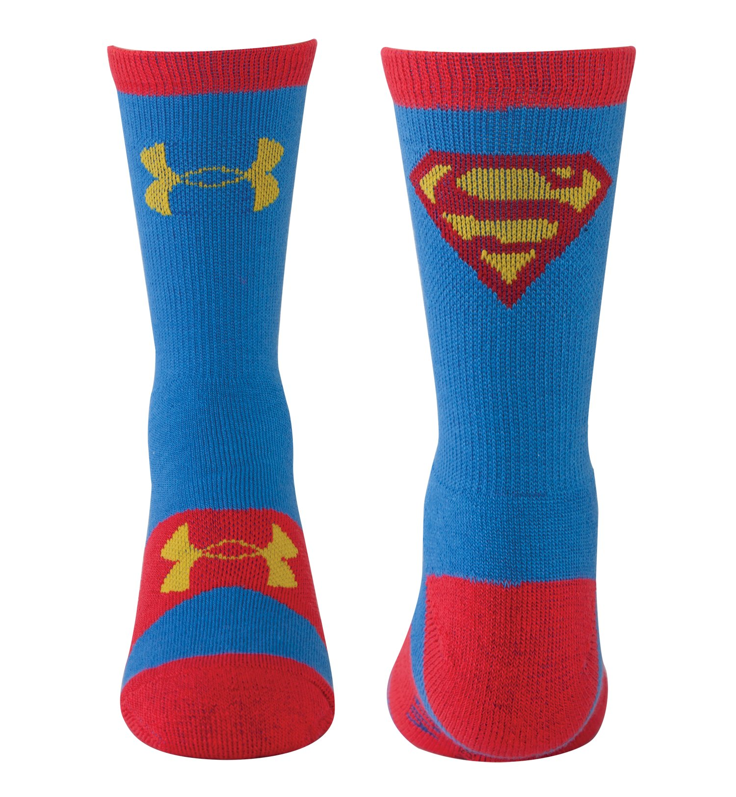 Kids' Under Armour® Alter Ego Superman Crew Socks, Blue, zoomed image