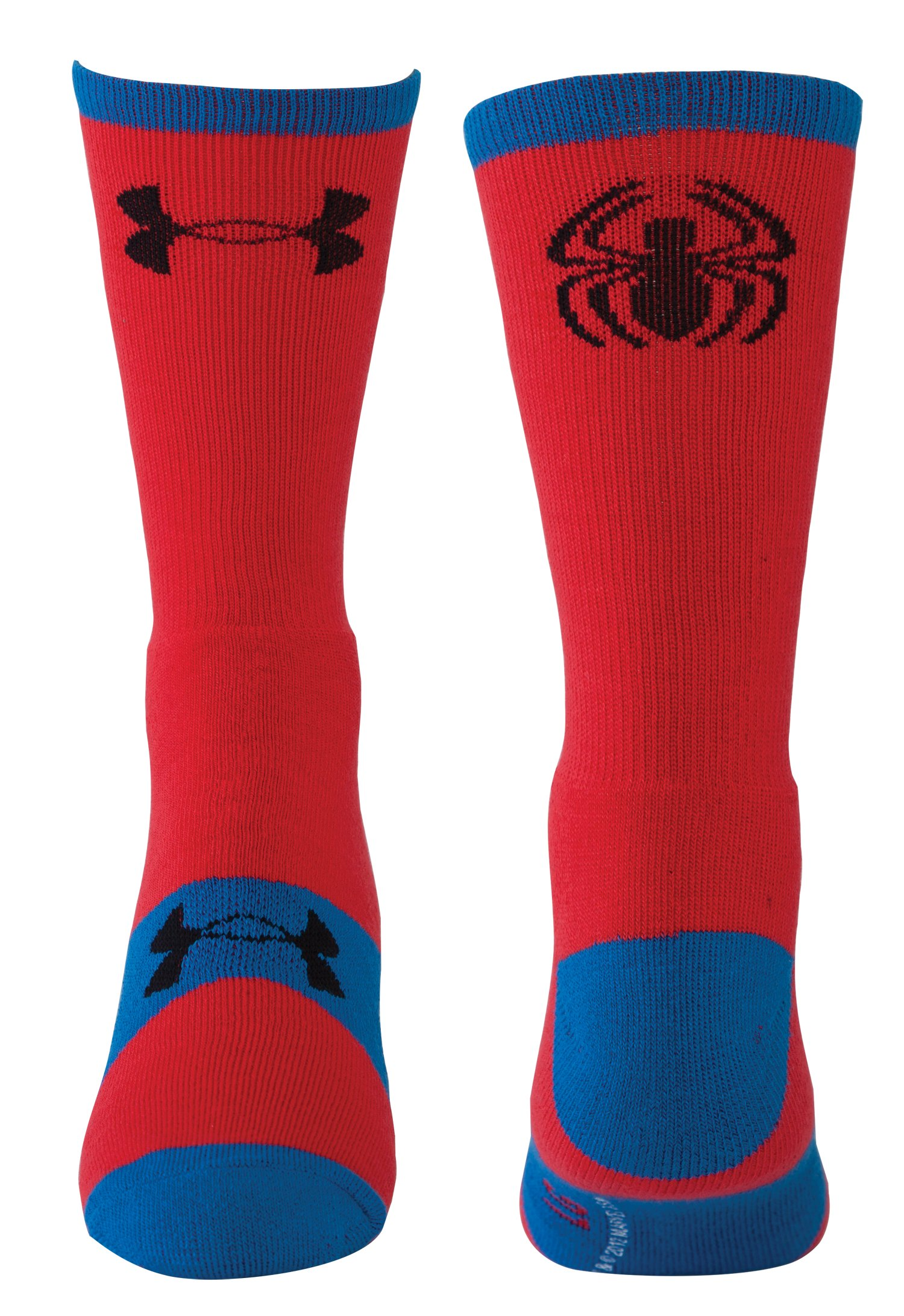 Men's Under Armour® Alter Ego Spider-Man Crew Socks, Red, zoomed image