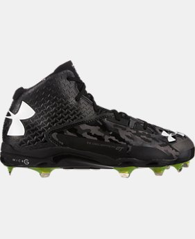 Men's UA Deception Mid DiamondTips Baseball Cleats LIMITED TIME: FREE SHIPPING 1 Color $112.99