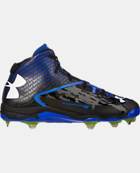 Men's UA Deception Mid DiamondTips Baseball Cleats  1 Color $82.99