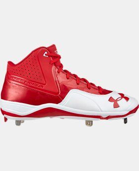 Men's UA Ignite Mid ST CC Baseball Cleats   $52.99
