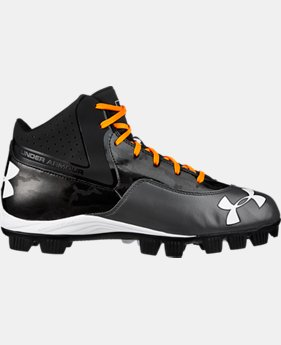 Men's UA Ignite Mid RM CC Baseball Cleats   $37.99