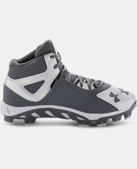 Boys' UA Spine™ Heater Mid ST Baseball Cleats  1 Color $31.49