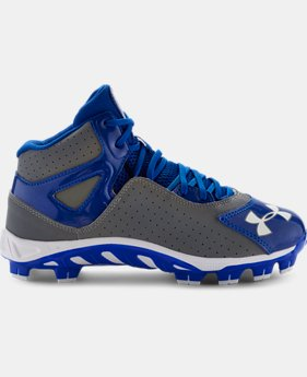 Boys' UA Spine™ Heater Mid ST Baseball Cleats