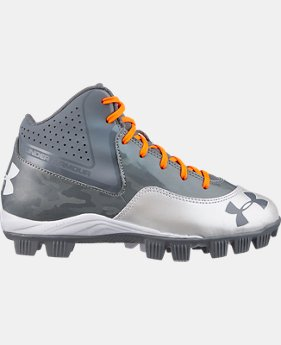 Boys' UA Ignite Mid RM CC Baseball Cleats