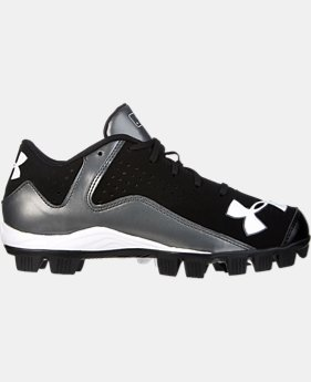 Boys' UA Leadoff Low RM Baseball Cleats