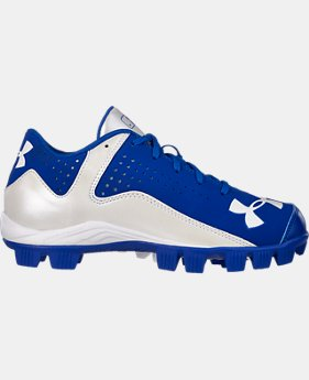 Kids' UA Leadoff Low RM Baseball Cleats