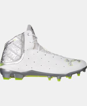 New Arrival Men's UA Banshee Mid MC Lacrosse Cleats  1 Color $99.99
