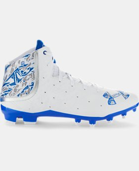 Men's UA Banshee Mid MC Lacrosse Cleats LIMITED TIME: FREE U.S. SHIPPING 1 Color $74.99