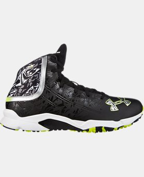 Men's UA Banshee Mid Lacrosse Turf Shoes