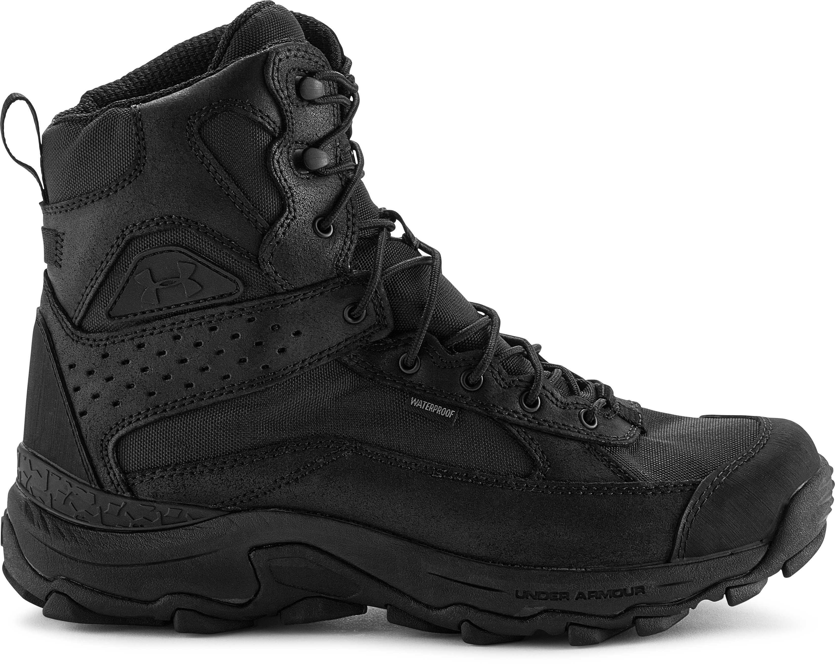 Men's UA Speed Freek Bozeman Hunting Boots, Black , zoomed image