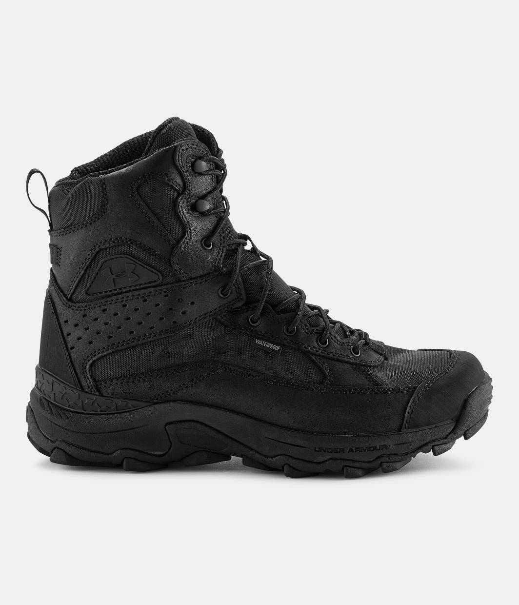 Boots - Men S Ua Speed Freek Bozeman Hunting Boots Black Zoomed Image
