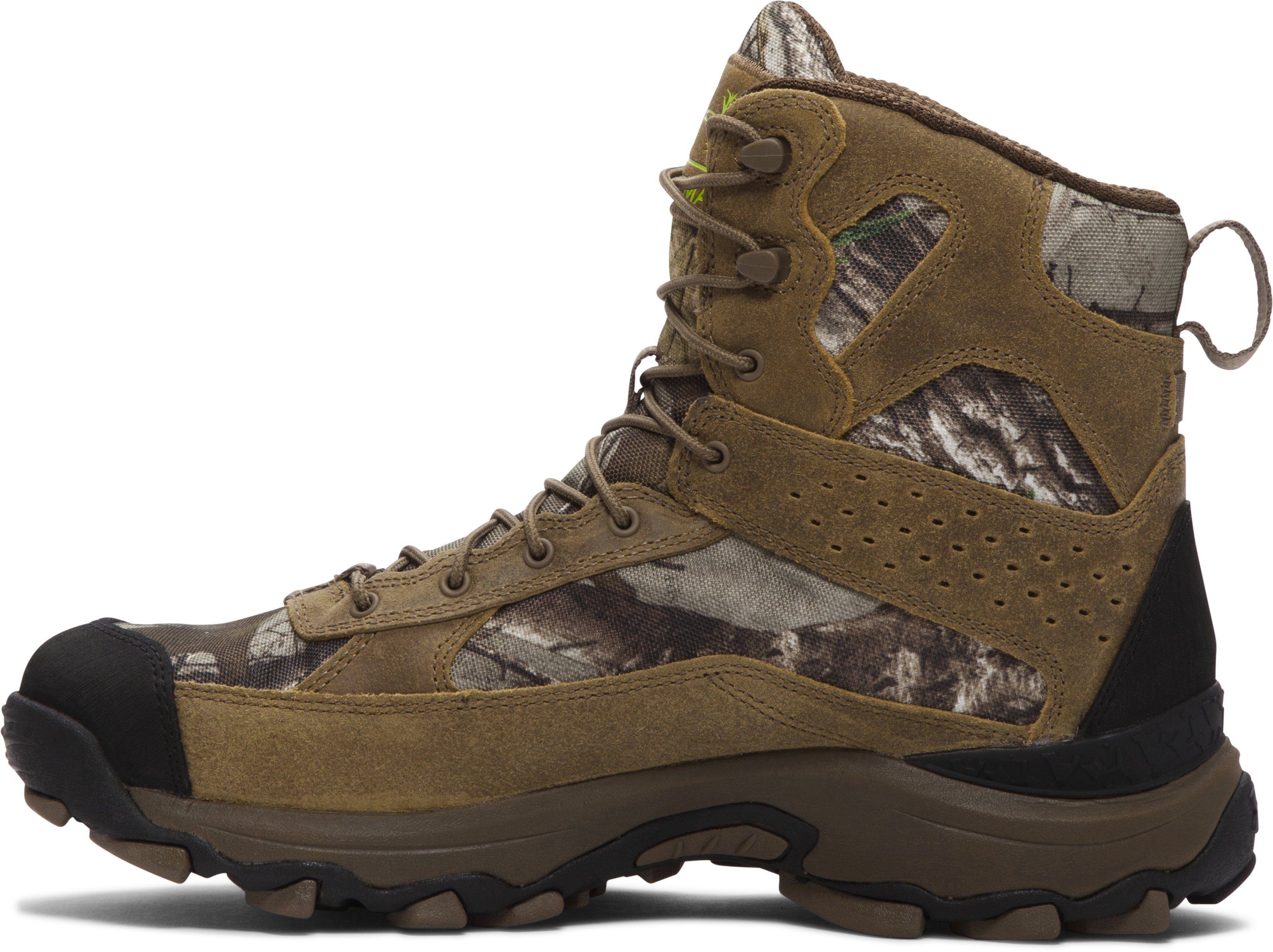 Men's UA Speed Freek Bozeman Hunting Boots, REALTREE AP-XTRA, undefined