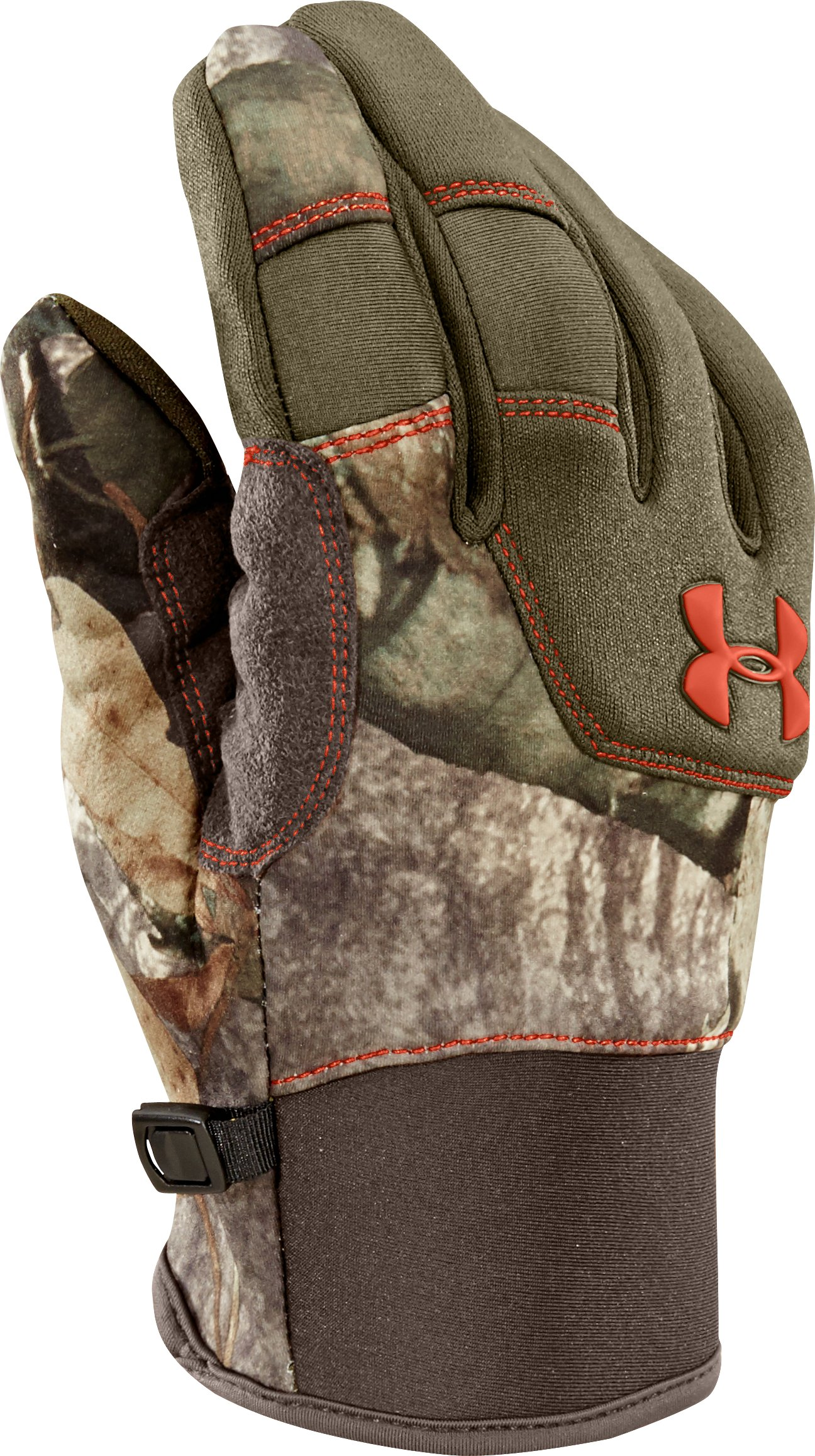 Men's UA Speed Freak Gloves, Mossy Oak Treestand,