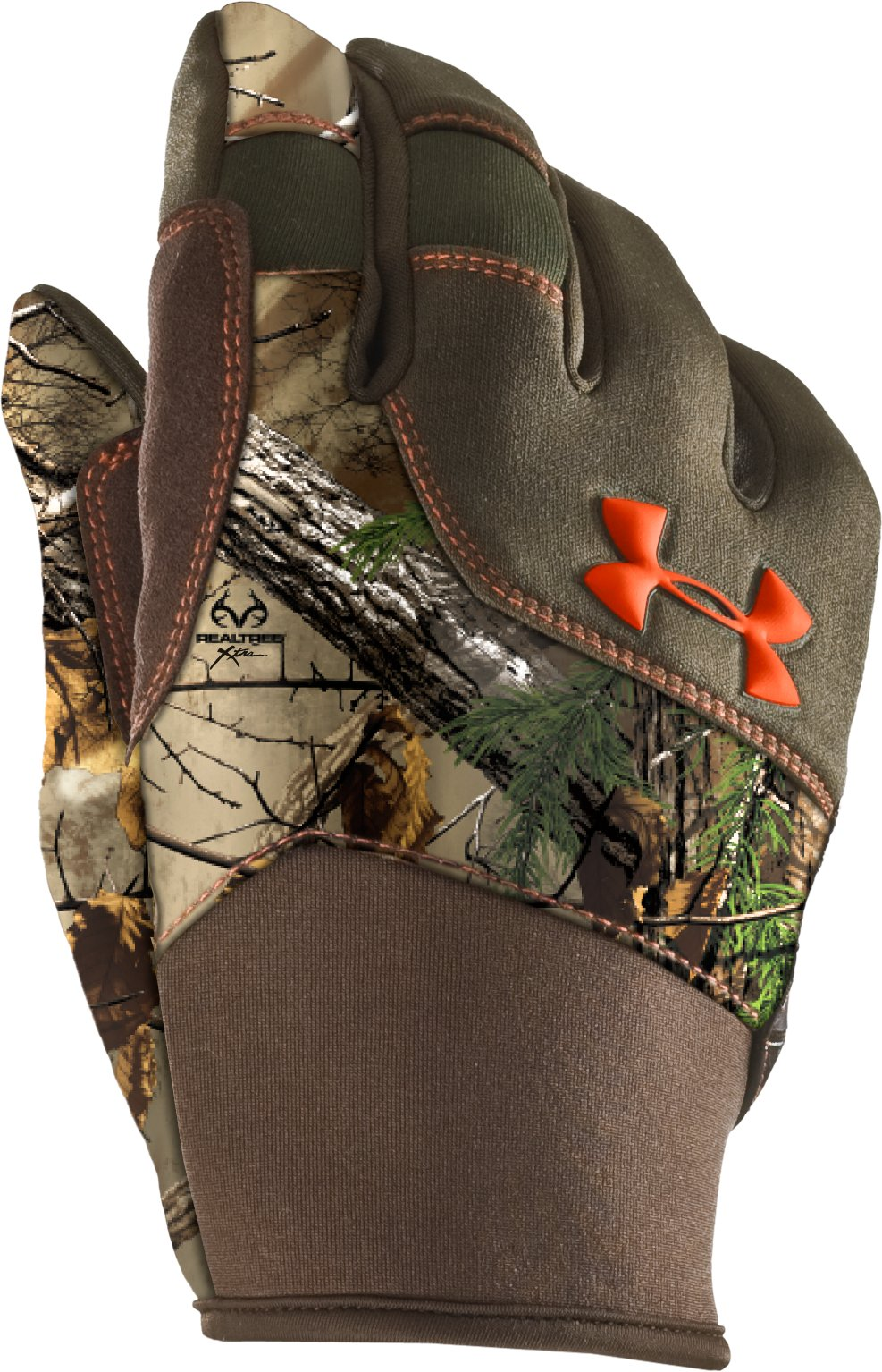 Men's UA Speed Freak Gloves, REALTREE AP-XTRA,