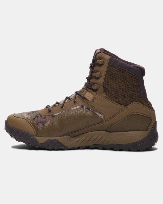Men's UA Valsetz RTS Tactical Boots, Brown, pdpMainDesktop image number 1