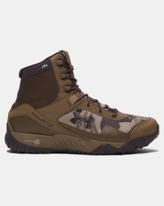 Men's UA Valsetz RTS Tactical Boots, Brown, pdpMainDesktop image number 0
