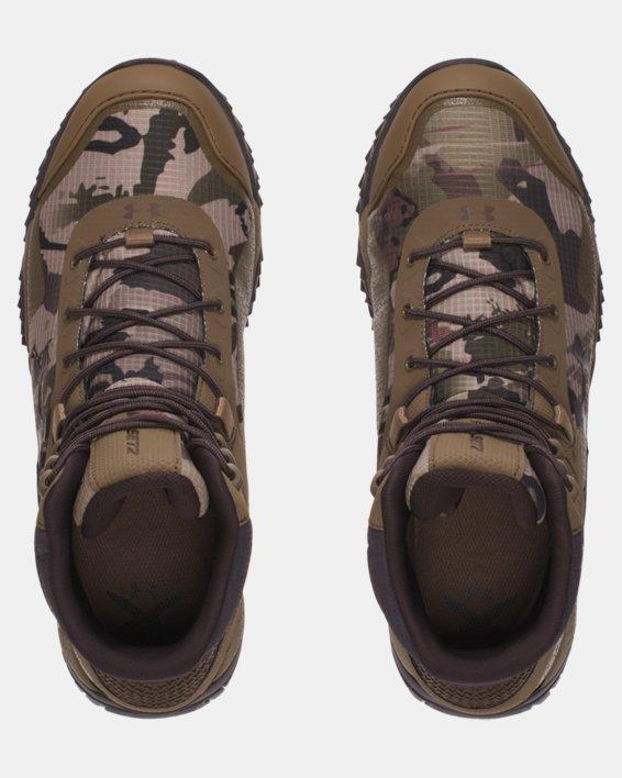Men's UA Valsetz RTS Tactical Boots, Brown, pdpMainDesktop image number 4