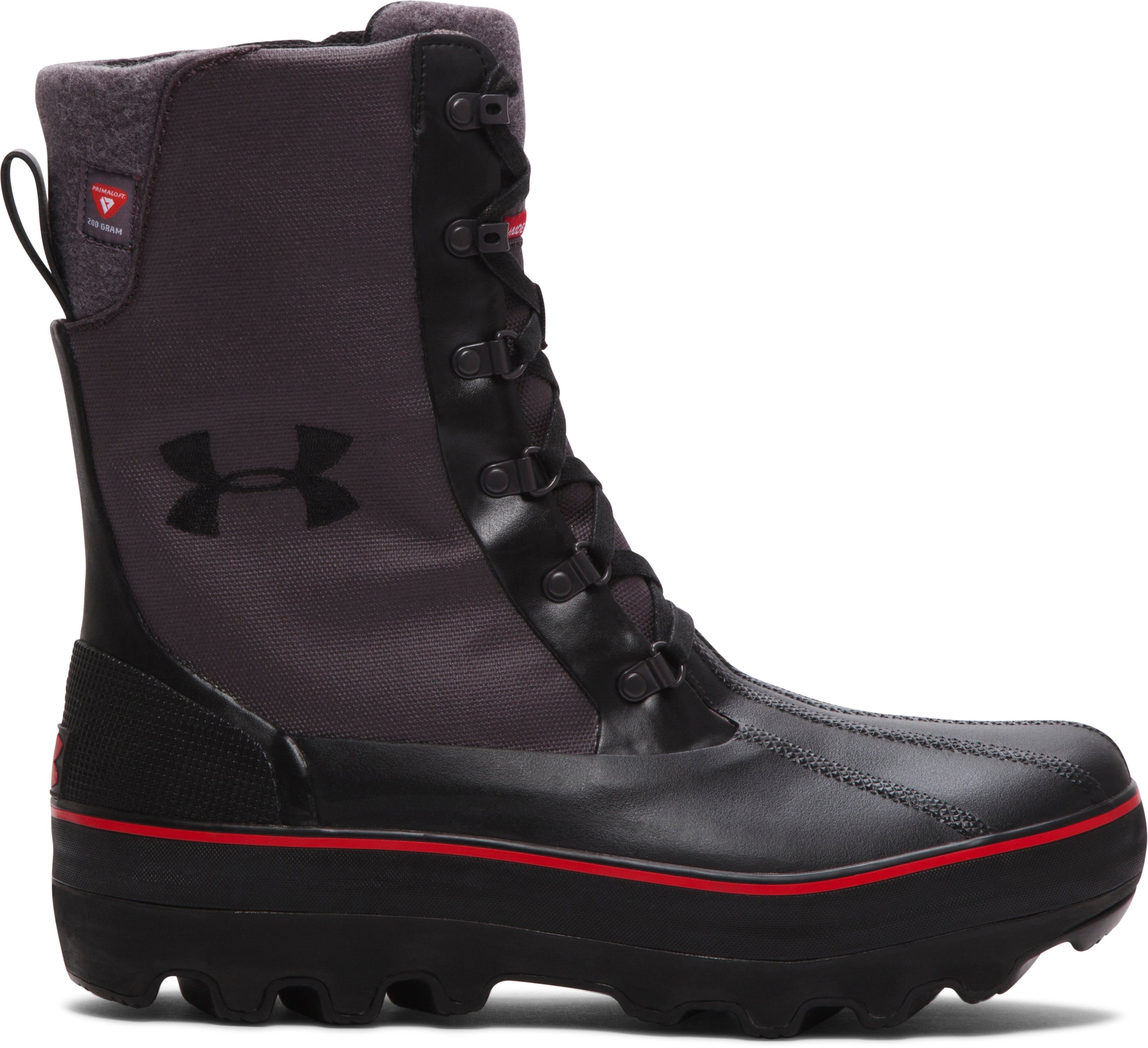 warm boots Men's UA Clackamas 200 Boots Comfortable, <strong>warm</strong> and light.