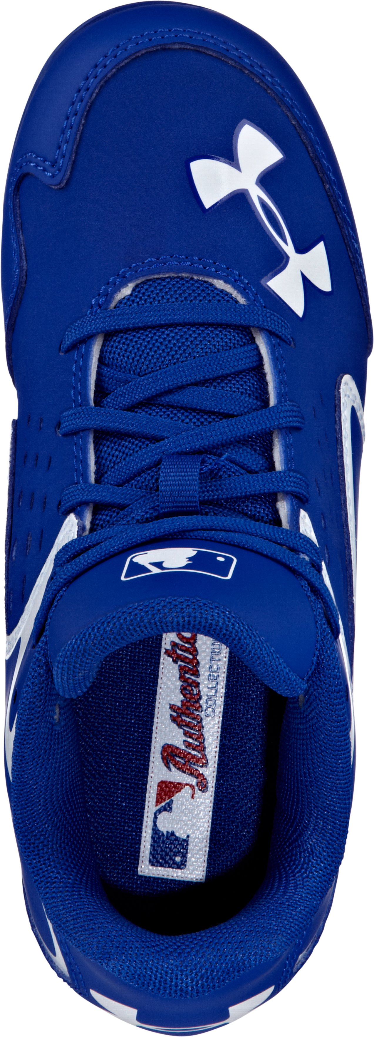 Kids' UA Clean Up Low RM Baseball Cleats, Royal