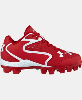 Kids' UA Clean Up Low RM Baseball Cleats
