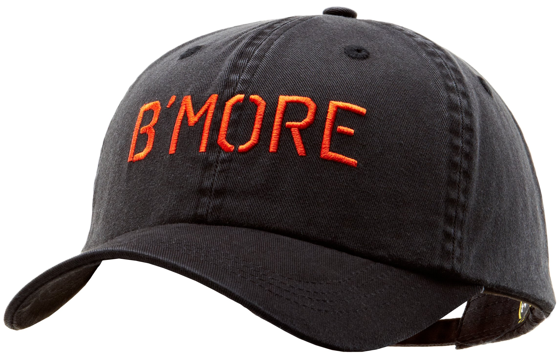 UA Bmore Legacy Adjustable Cap, Black