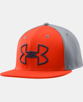 Men's UA Front Center Low Crown Stretch Fit Cap
