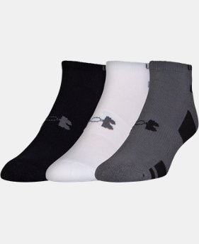 Best Seller Men's UA HeatGear® No Show Socks – 3-Pack  1 Color $14.99