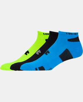 Men's UA HeatGear® No-Show Socks 3-Pack - 2 for $25