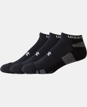 Best Seller Kids' UA HeatGear® No Show Socks 3-Pack  2 Colors $13.99