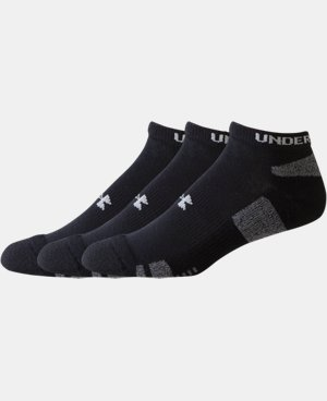 Kids' UA HeatGear® No Show Socks 3-Pack LIMITED TIME: FREE U.S. SHIPPING 1 Color $10.99 to $13.99